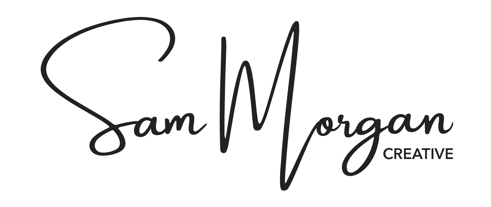 Sam Morgan Creative Logo Black-01